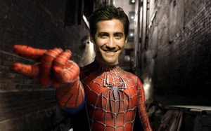 Jake Gyllenhaal will be replacing Tobey Maguire