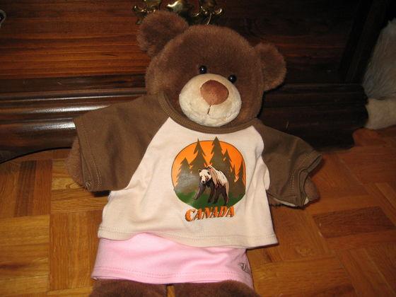 Alessia the camper!