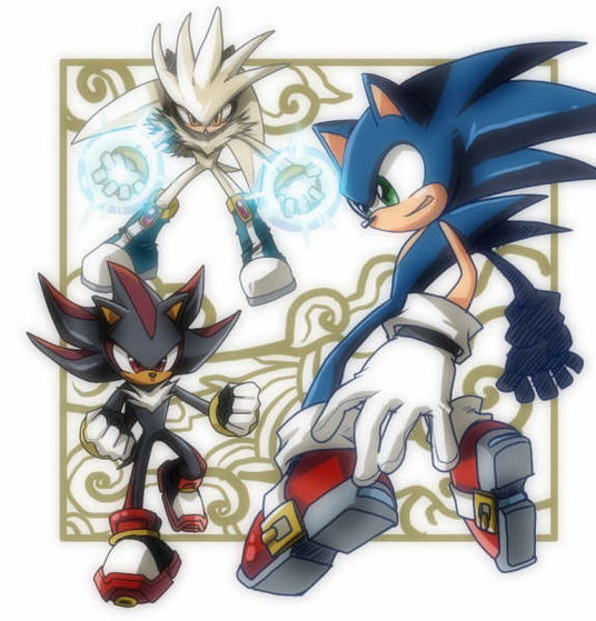 Sonic, Shadow, and Silver