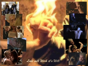 Buffy & Spike  *Love Will Works It's Will*