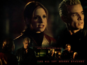 "Just Let me Go.. I Can't ..I'm In Cinta With You.. No anda Don't .. anda Think I Tried Not Too... Buffy & Spike ""Dead Things"""
