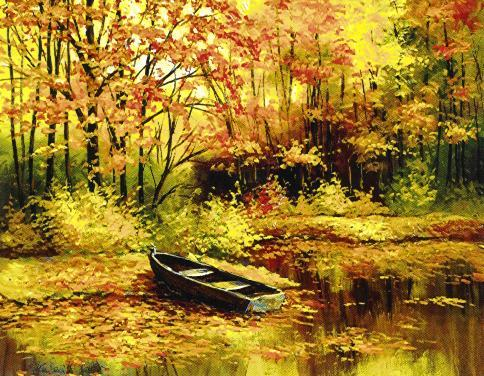 """Fall door the River Side"""