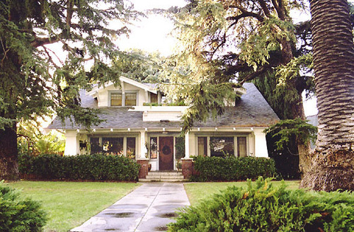 Buffy's house in Sunnydale