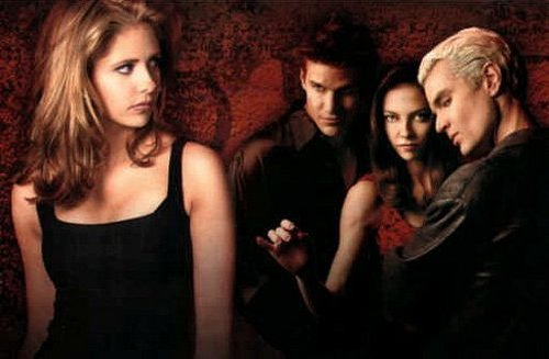 Buffy vs Dru,Spike,Angel(us)