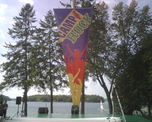 Camp Rock Stage