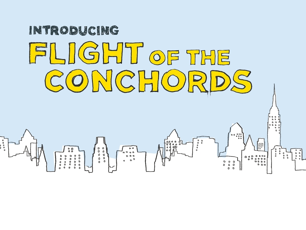 Combined Hbo Fotc Wallpaper Flight Of The Conchords Wallpaper