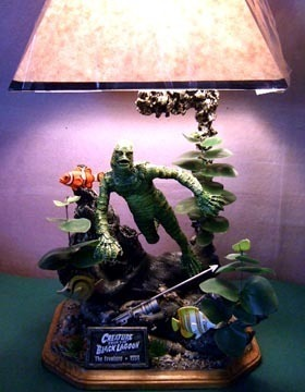 Creature From BlackLagoon lamp