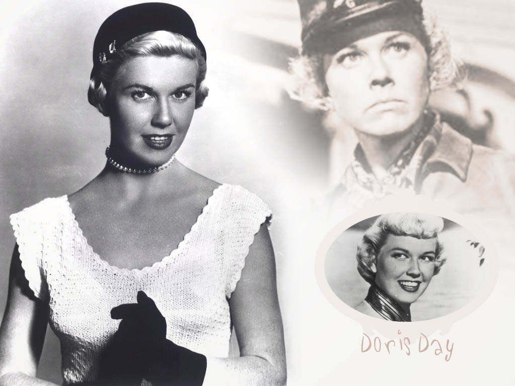 Doris Day w'paper