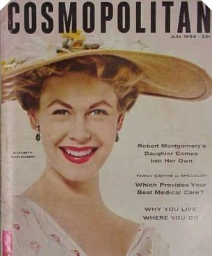 Elizabeth on magazine cover