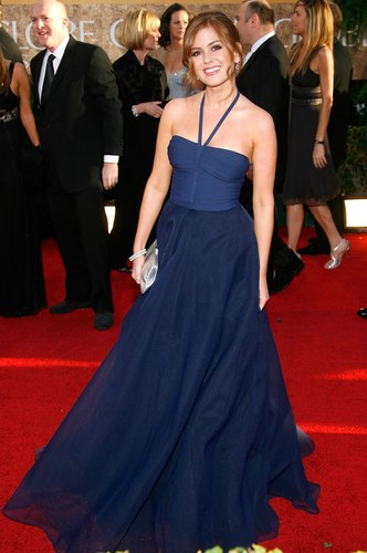 Isla Fisher Golden Globes 2007