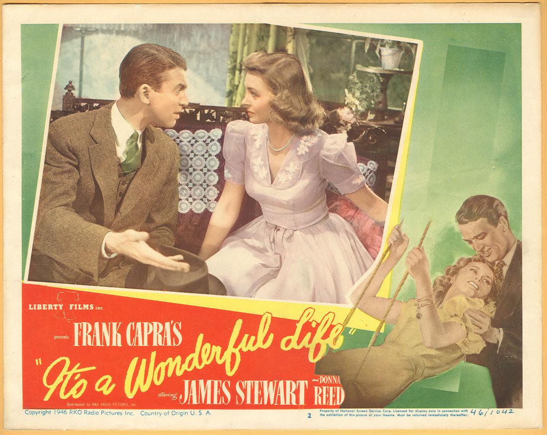 It S A Wonderful Life Poster Christmas Movies Fan Art 1160434