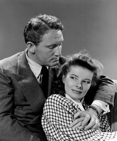 Katharine & Spencer Tracy