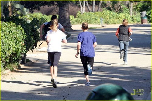 Lauren and Lo Running
