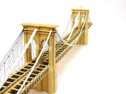 Lego Brooklyn Bridge