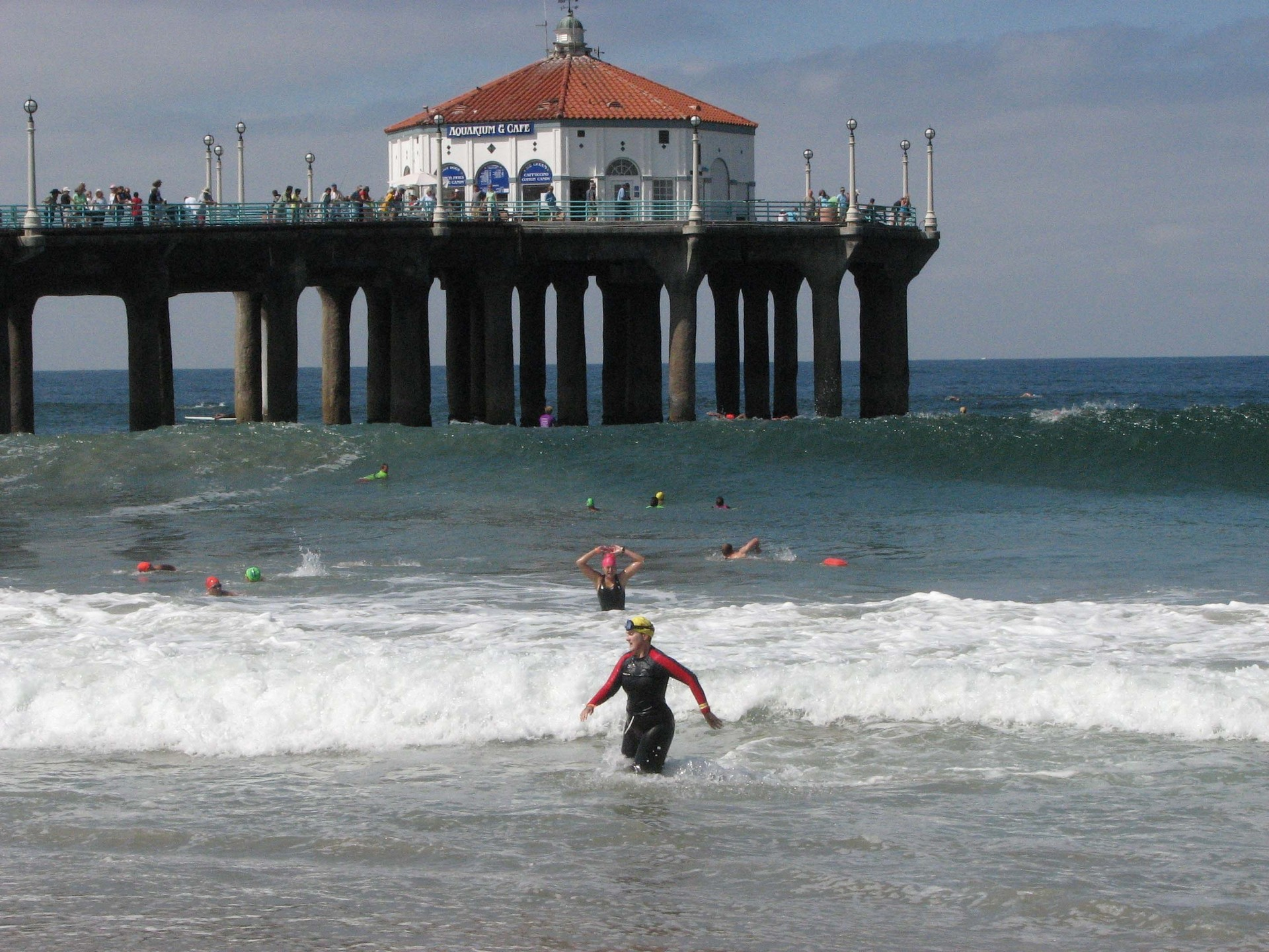 Los Angeles Images Manhattan Beach Hd Wallpaper And Background Photos