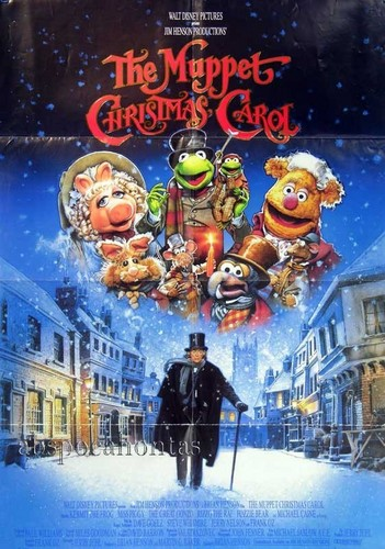 Muppets giáng sinh Carol poster