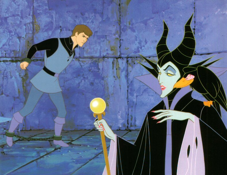 Phillip and Maleficent