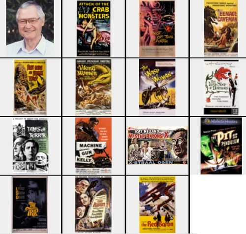 Roger Corman film collection
