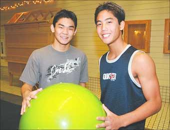 Ryan Higa and Sean Fujiyoshi