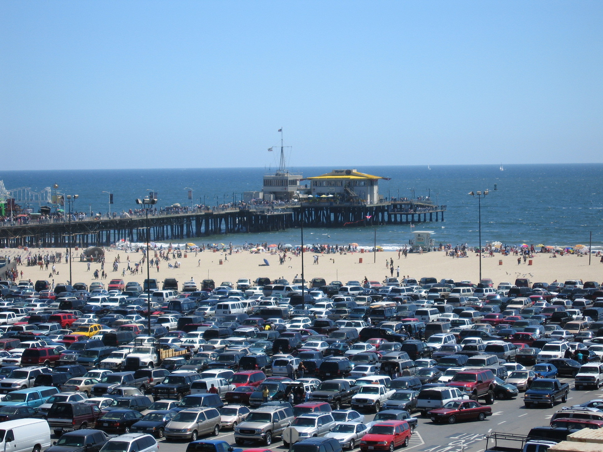 Los Angeles Images Santa Monica Beach Hd Wallpaper And Background Photos