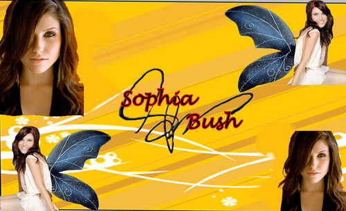 Sophia-Bush-Background-Yellow