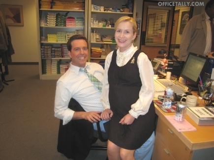 The Office Set Visit