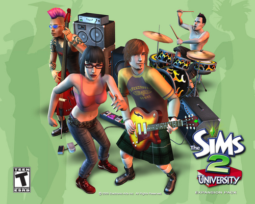The Sims 2 大学