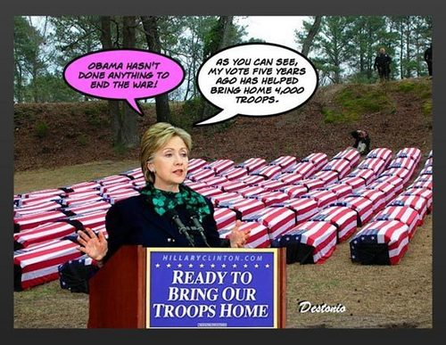 hilary brings 집 the troop
