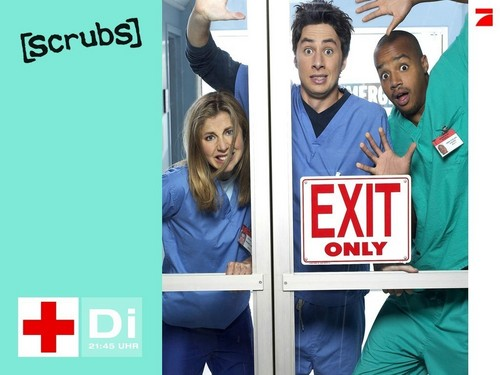 scrubs wallpaper - with turk