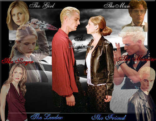 angel Buffy & Spike