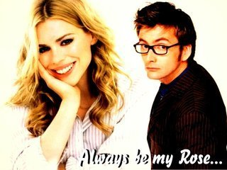 Billie and David / Rose and Doctor