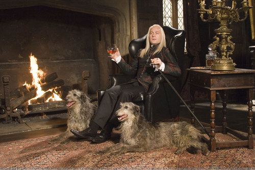 Lucius in Malfoy Manor