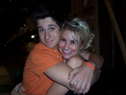Chelsea and David Henrie