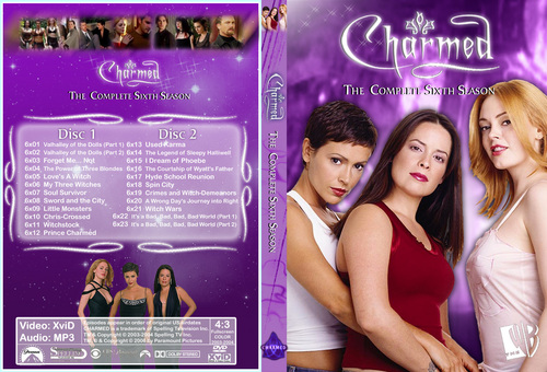 Chramed Season 6 Dvd Cover Made sejak Chibiboi