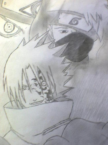kakashi and Sasuke