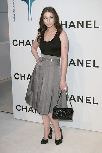 Michelle at Chanel boutique opening