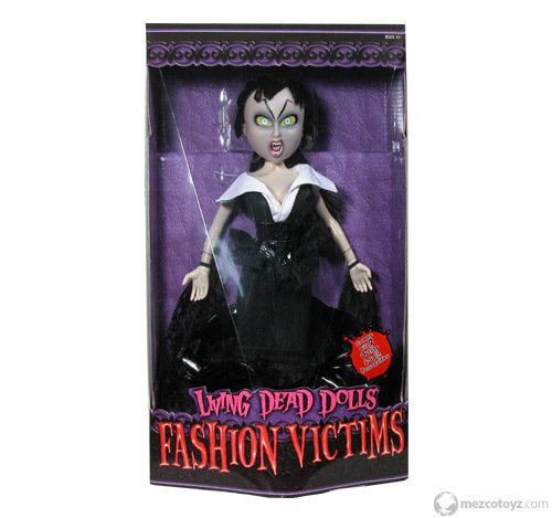 """Fashion Victims"" Series 1 discontinued"