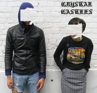 Crystal Castles Album Cover Crimewave