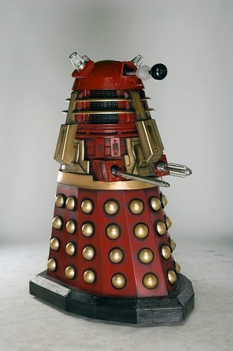 Davros and the Red Dalek