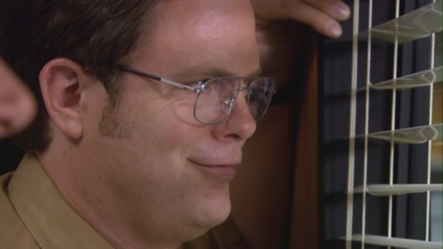 Dwight Thinks About Angela Gay in Gay Witch Hunt