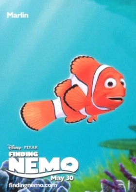 Marlin Finding Nemo Poster
