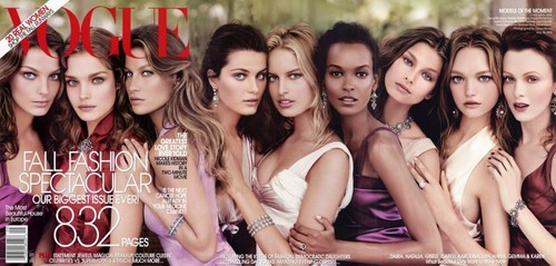 Daria's Vogue covers