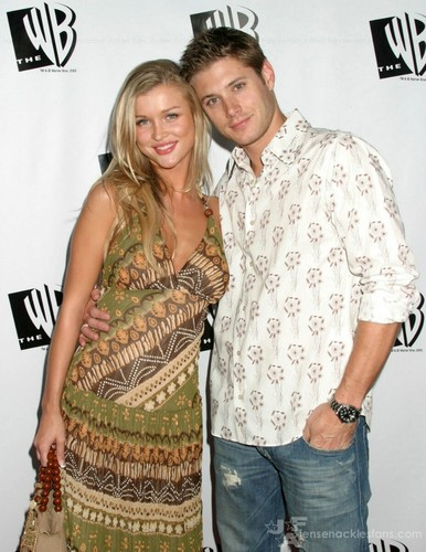 Jensen & his girlfriend
