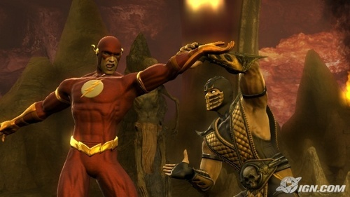 The flash vs Scorpion