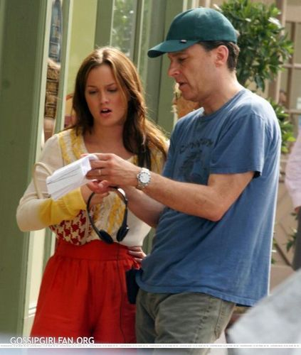 LEIGHTON MEESTER ON SET!!!