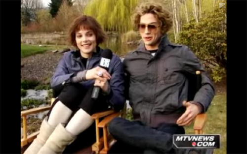 Alice and Jasper filming