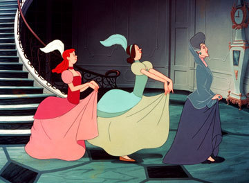 Lady Tremaine, Anastasia and Drizella