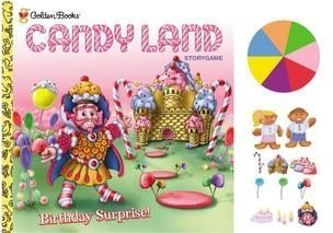 Candy Land Golden Book