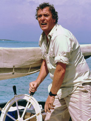 Michael Caine in Jaws the Revenge