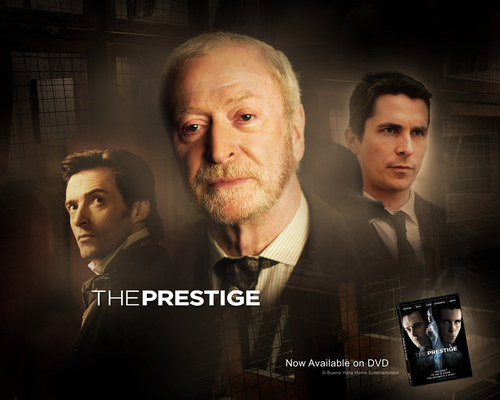 Michael Caine in The Prestige Wallpaper